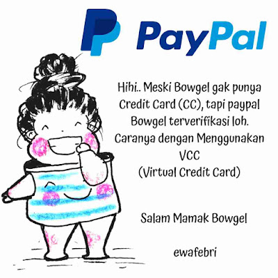 Illustrasi Paypal by ewafebri