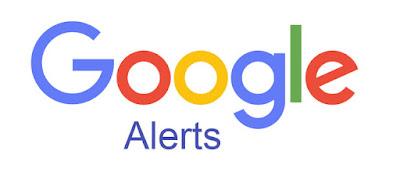 Setting Google Alerts