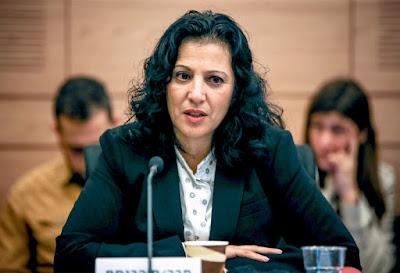 """""""היה פה פשע מאורגן בחסות המדינה"""" ח""""כ נורית קורן // צילום: אורן בן חקון"""