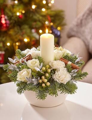 30 dekorasi lilin natal di rumah - ilmumenara