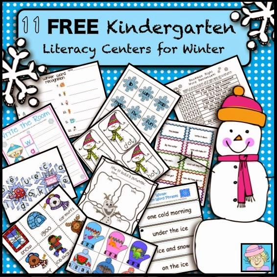 kinder centers - Literacy Centers Kindergarten