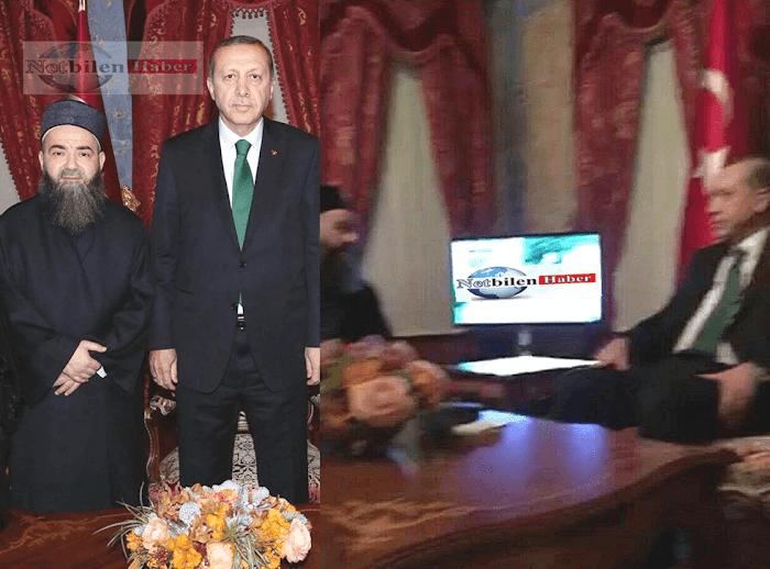 Cübbeli Ahmet Hoca Cumhurbaşkanı Recep Tayyip Erdoğan'ı ziyaret etti