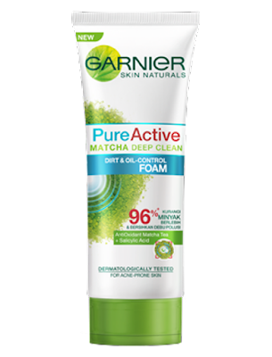 Pure Active Matcha Deep Clean.