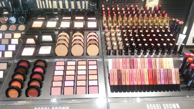 Bobbi Brown makeup counter