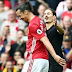 Zlatan Ibrahimovic confronted by lookalike pitch invader but he sees the funny side of it (photos)