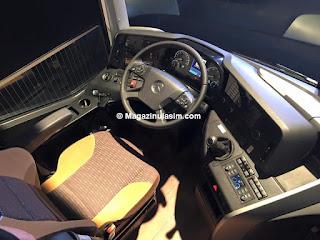 Yeni Mercedes'in içi