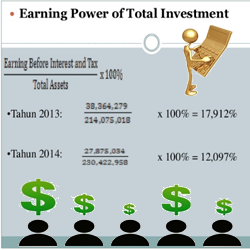 Pengertian Earning Power of Total Investment