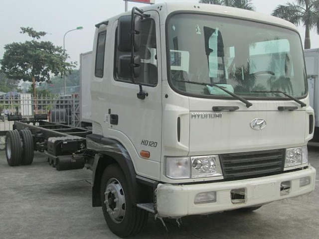 Hyundai HD120 chassi