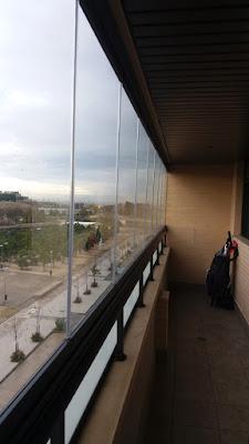 Cortinas de cristal en Zaragoza