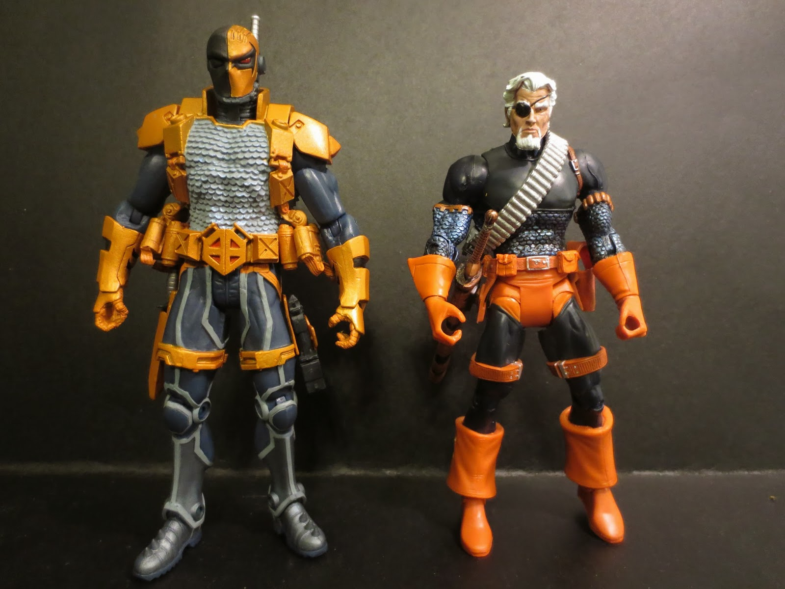 The Epic Review: Action Figure Review: Deathstroke from The