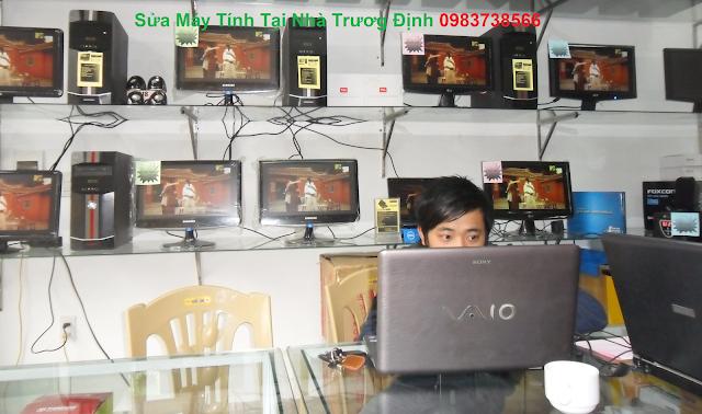 Sửa máy tính tại nhà Trương Định