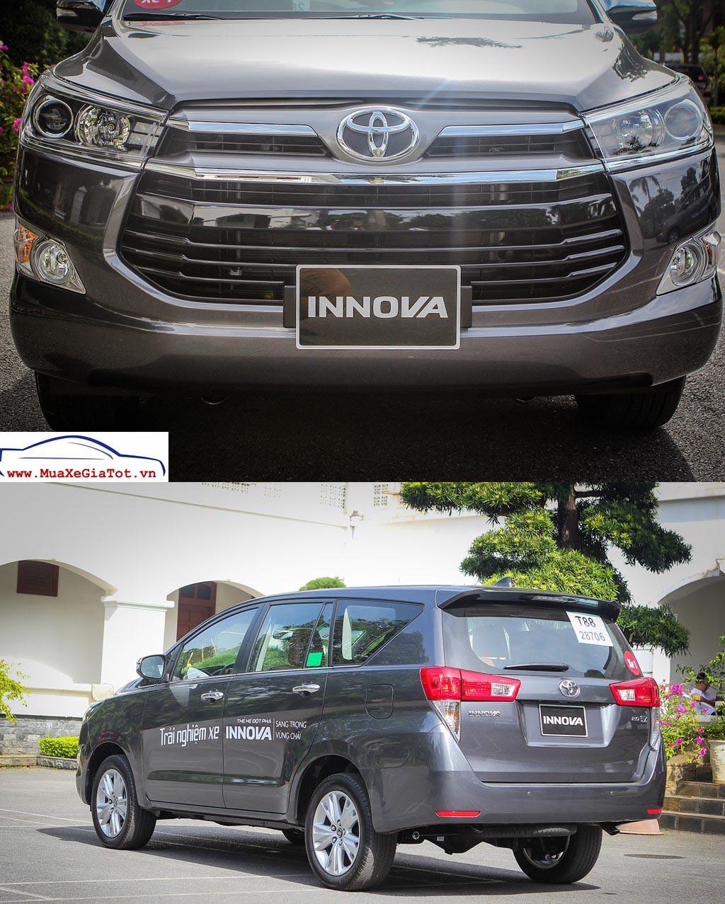 xe toyota innova 2016 -  - So sánh Toyota Innova 2.0V và Honda CRV tại Việt Nam