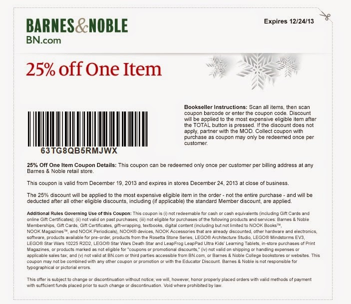 image about Barnes and Noble Printable Coupon known as Barnes and noble coupon 20 off : I9 sporting activities coupon
