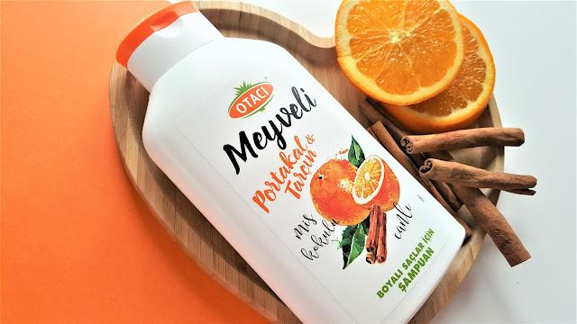 Otacı Boyalı Saçlar İçin Şampuan | Portakallı&Tarçınlı