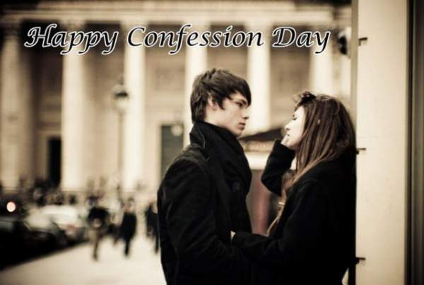 Confession Day Wishes, Messages, SMS, Quotes and  Images