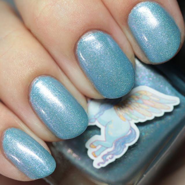Grace-full Nail Polish Tickled by Wings