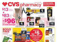 CVS Ad August 2 - 8, 2020 and 8/9/20