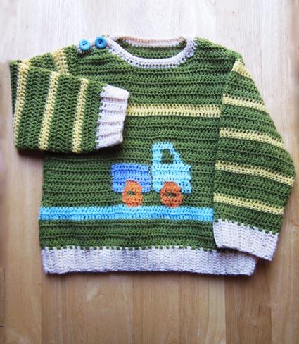 Jersey camión crochet