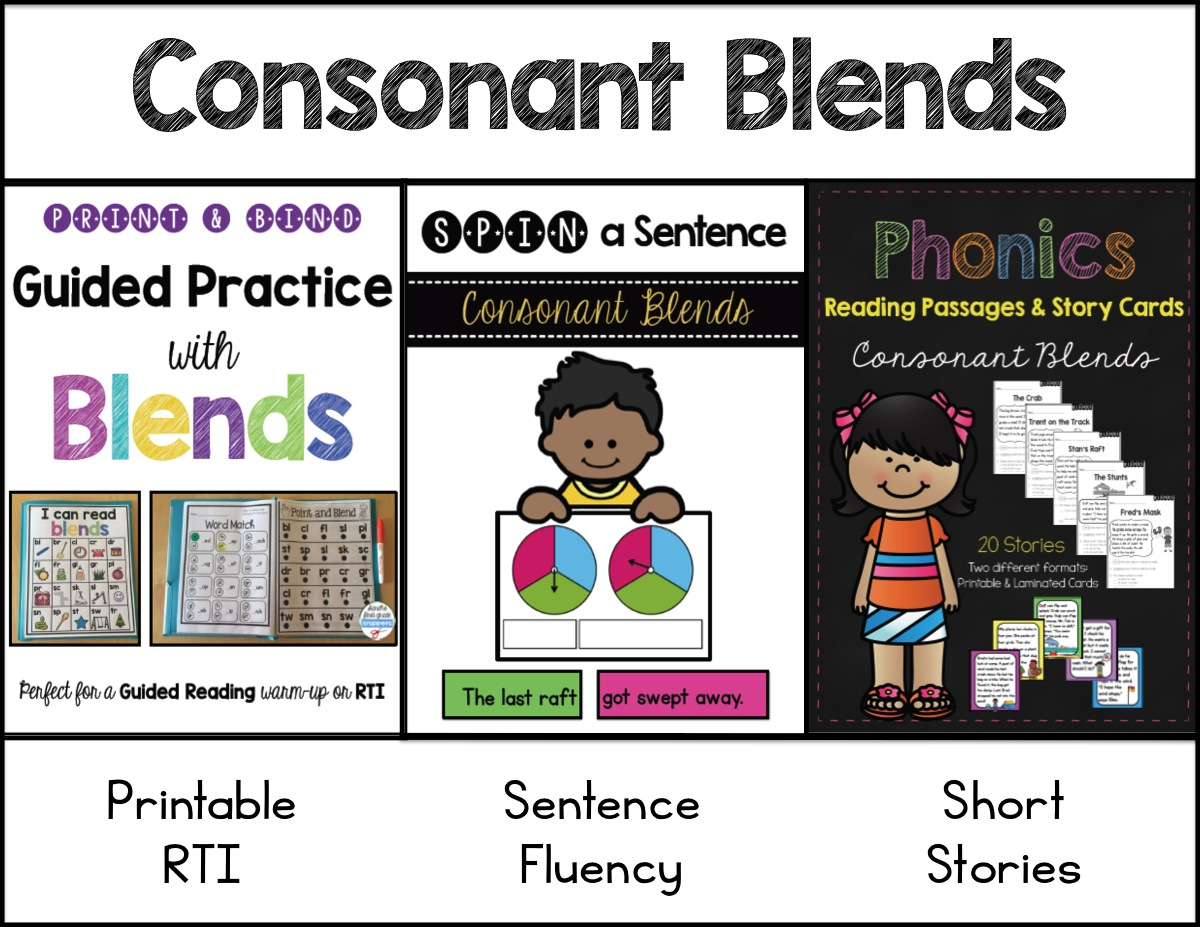 teaching initial consonant clusters Words their way within word pattern spellers unit 7 beginning and ending complex consonants and consonant clusters teacher lay-out picture and word cards for teaching flip flap fold out containing mini sorts for each sort no prep sort color sheets.