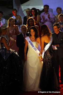 Pauline Basoche  Miss Auvergne 2015, Vichy.