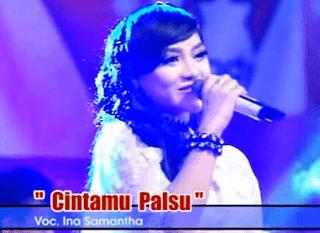 Lirik Lagu Cintamu Palsu - Ina Samantha