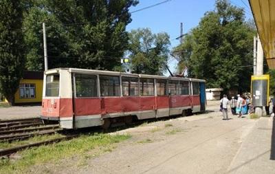 У Кривому Розі зійшов із рейок трамвай