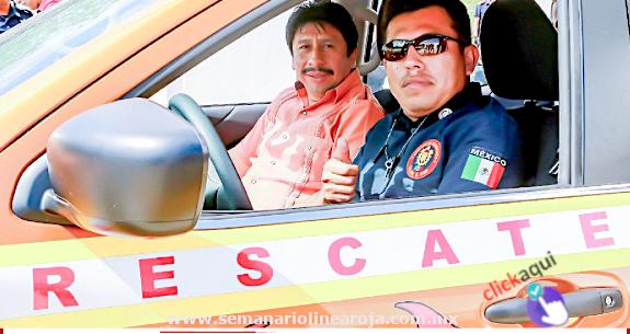 Bomberos recibe vehículo para brindar mejor atención en emergencias