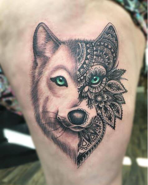 130 Best Tribal Wolf Tattoos For Men 2019 Page 5 Of 5 Tattoo