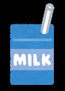 給食のイラスト(牛乳)