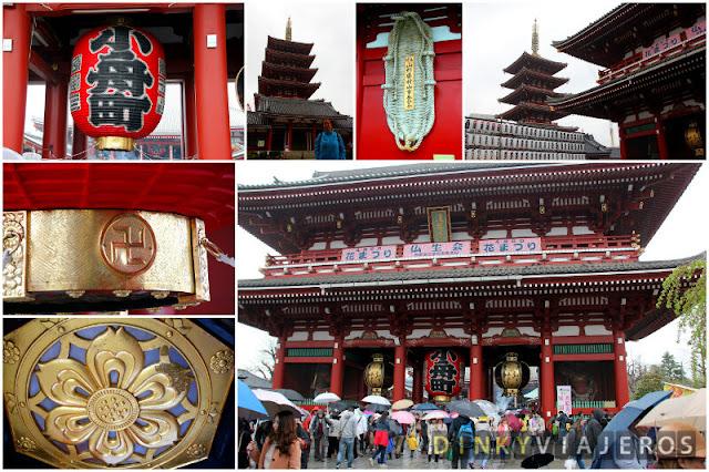Puerta Hōzōmon y pagoda Gojūnoto