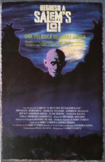 El misterio de Salem's Lot, Stepehn King, Tobe Hooper, David Soul