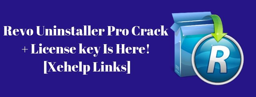Revo Uninstaller Pro Crack