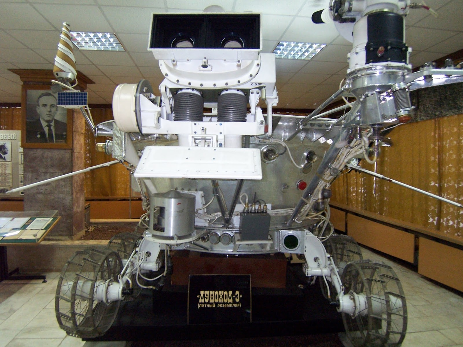 There be Robots here: Lunokhod the Russian Moon Rover