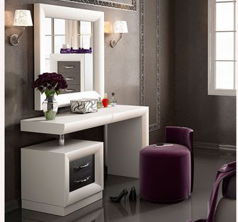modern white dressing table ideas for bedroom interior design 2019