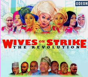 London Premiere of WIVES ON STRIKE