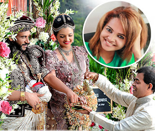 Our wedding is only a photoshoot -- still Athula is 'there' ... I am 'here' -- Amaya Adhikari