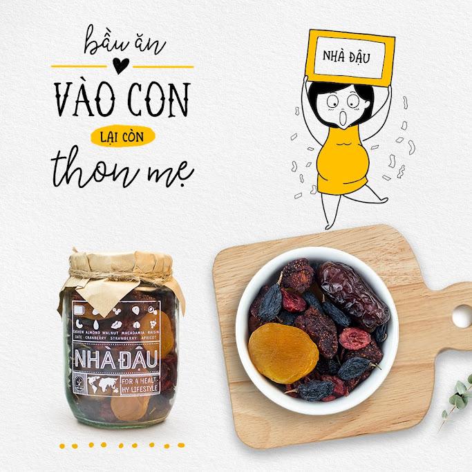 [A36] Cải thiện dinh dưỡng cho Mẹ Bầu nhờ ăn Mixnuts Nhà Đậu