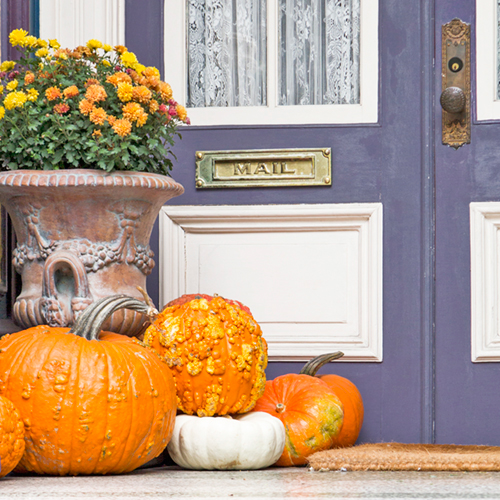 Fall Front Door Decor by Katelyn Wood on Instagram: LLKCake