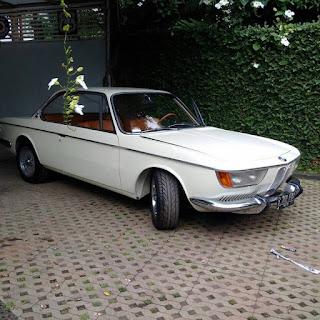 BUKALAPAK MOBIL ANTIK : Forsale BMW 2OOO CS thn 1968  surat lengkap stnk bpkb