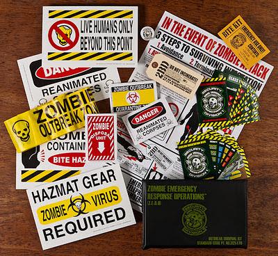 Acquisti mirati? Zombie Survival Kit!