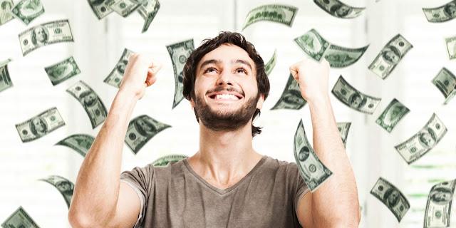 jaga baik uang kejutan