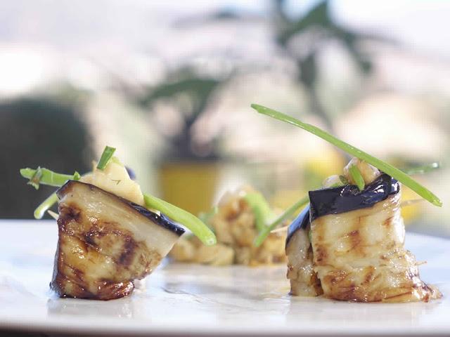 Eggplant fish