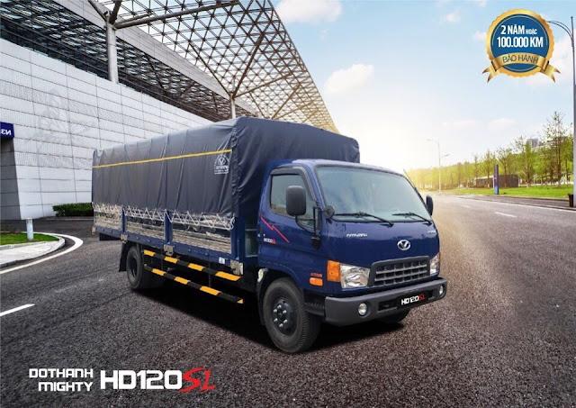 Đại lý xe tải HD120sl 8 tấn tại sơn la