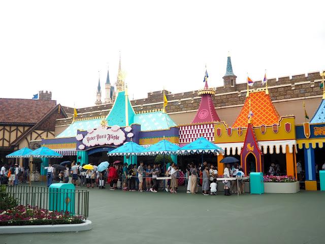 Peter Pan's Flight, Tokyo Disneyland, Japan