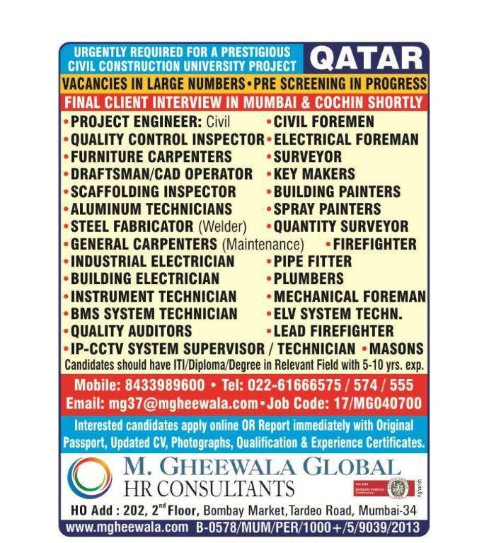 Civil Construction University Project in Qatar