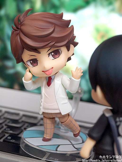Galería del Nendoroid Toru Oikawa Uniform Ver. de Haikyuu!! - Good Smile Company