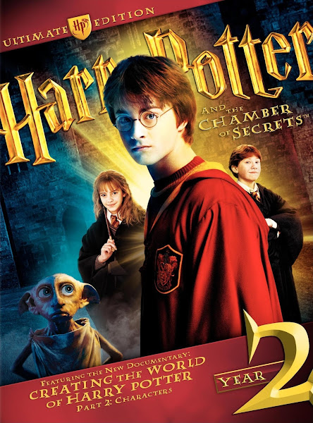Poster of Harry Potter and the Chamber of Secrets 2002 Dual Audio 1080p BluRay ESubs Download