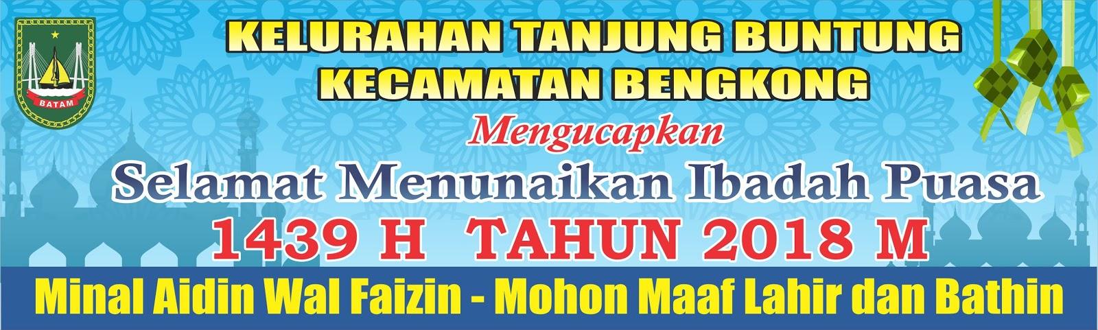 Contoh Spanduk Ucapan Ramadhan Dan Idul Fitri Ala Model Kini