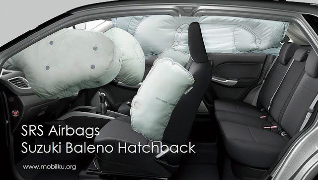 SRS, Airgabs, Suzuki, Baleno, Hatchback, safety, aman, keselamatan, kantung udara
