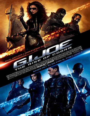 G.I. Joe The Rise of Cobra 2009 Hindi Dual Audio 500MB BluRay 720p ESubs HEVC Free Download Watch Online downloadhub.in